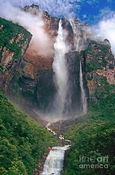 Angel Falls, Canaima National Park, Venezuela by Dave Welling