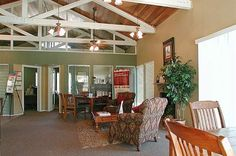 Leasing office at The Copper Hill Apartments in Bedford, TX