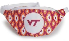 Fanny Packs are back! And its no wonder - they are the perfect item for keeping your hands free while you cheer on your Hokies! USA made with adjustable strap means one size fits most. Large front compartment with plenty of room for your cell phone, keys, ID, etc.. www.desden.com - CLICK ON THE PIC TO ORDER!