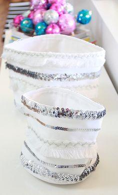 A Bubbly Life: DIY Moroccan Wedding Blanket Storage Baskets