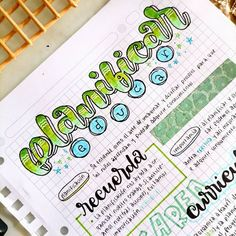 School Organization Notes, School Notes, Hand Lettering Fonts, Lettering Tutorial, Notebook Doodles, Background Design Vector, Bullet Journal Ideas Pages, Banner, Study