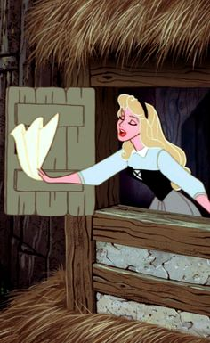 Briar Rose - The Disney animators of this time were true masters of animation. Such beautiful artistry brought to life through motion picture!