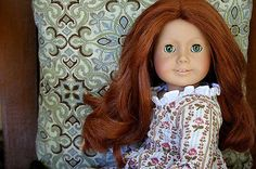 American-Girl-Pleasant-Company-FELICITY-DOLL-With-Meet-Dress-18-Retired