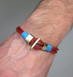 Unisex Bracelet Men's BraceletLeather Men Bracelet por ZEcollection