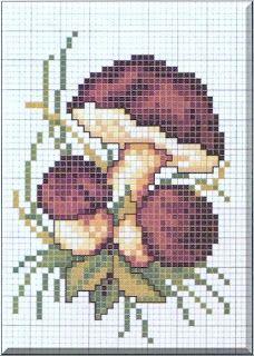 Tiny Cross Stitch, Cross Stitch Fruit, Cross Stitch Kitchen, Beaded Cross Stitch, Cross Stitch Flowers, Cross Stitch Embroidery, Embroidery Patterns, Modern Cross Stitch Patterns, Cross Stitch Designs