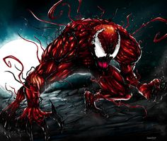 MARVEL COMICS 16528 CARNAGE IS HERE POSTER 22x34