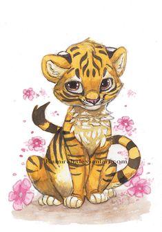 Tiger by ~Kamirah on deviantART
