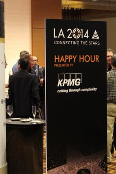 KPMG @ YPO 2014 Global EDGE Conference:   KPMG sponsored cocktail reception at the YPO 2014 Global EDGE Conference