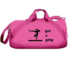 Designed for the people you love, and the things you love to do! Gymnastics Grips, Gymnastics Bags, Get A Grip, Gym Bag, People, Red, Design, Totes, Folk