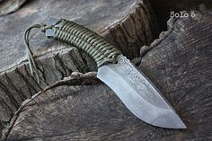 "Handmade FOF ""Solo 5"" working, hunting and survival knife"