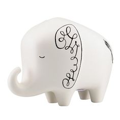oh my goodness, could this be any cuter??  woodland park elephant bank - kate spade