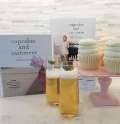 Celebrate National Author Day with a sweet cupcake, bubbly champagne and a great book by @EmilySchuman. Cupcakes and Cashmere is filled with beautiful inspiration and makes a perfect gift for any of your creative friends.#papernmoreok #shoplocal #cupcakesandcashmere #emilyschuman