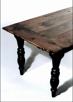 re-purposed barn board dining table <3