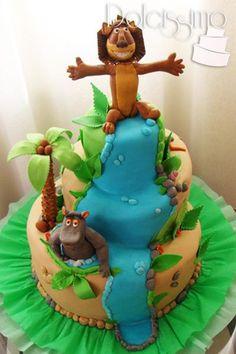 Madagascar Cake Flickr Photo Sharing cakepins.com