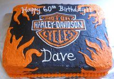 Harley-Davidson birthday cake