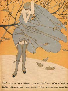 Illustration by Ernesto Garcia Cabral. ca. 1925