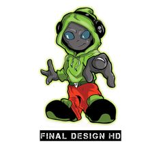 Alien Mascot on Behance