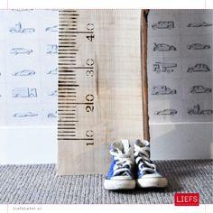 LiefsLiniaal ♡ Kids ♡ Maak ook je eigen meetlat! www.LiefsLabel.nl