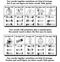 Word Scramble: Double Vowels   Worksheets, Words and Articles