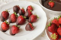 Chocolate-Dipped Strawberries from 14 Favorite Chocolate Desserts to Turn Your Dinner Party Decadent