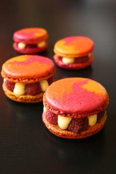 Macarons un peu comme le Paris-Metz de Chez Fresson
