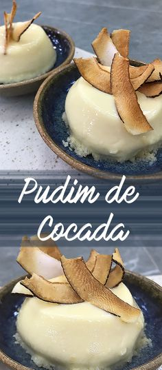 Receita fácil de pudim de cocada fresco. Receita vapt vupt | #receita #comida #sobremesa #pudim #diy #facavocemesma