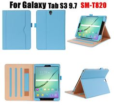 Magnet Business Style Flip Cover Leather Case For Samsung Galaxy TAB S3 9.7 SM-T820/SM-825 T829 Tablet Case SMART COVER