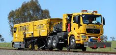 Rail-Road-Truck SF02-FS Truck - Produkte | Linsinger Maschinenbau Österreich Work Train, Heavy Duty Trucks, Transportation, Construction, Buses, Austria, Vehicles, Yards, Trains