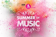 BBC Asian Network's Summer of Music identity