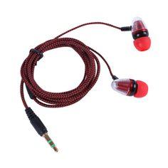 Super Bass Clear Voice Earphone Headset Mobile Computer MP3 Universal Earphone Cool Outlook