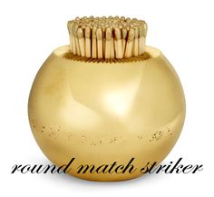 Aerin Lauder Home Accessories, great for lighting candles...for the guest powder room