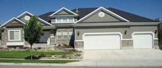 Best exterior paint schemes stucco dream homes Ideas Exterior Gray Paint, Exterior Paint Schemes, Exterior Paint Colors For House, Paint Colors For Home, Exterior Colors, Exterior Design, Stucco Paint, Paint Colours, Grey Paint