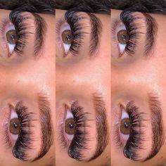 Eyelash Extensions Styles, Volume Lash Extensions, Perfect Eyelashes, Best Lashes, Flawless Makeup, Skin Makeup, Almond Eye Makeup, Wax Studio, Babe Lash