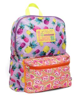Pineapple 4-in-1 Convertible Backpack   LittleMissMatched