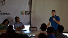 Jóvenes líderes se reúnen en apoyo a candidata presidencial Minou Tavárez Mirabal
