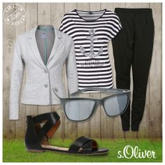 1 pair of shoes, 4 different outfits, find your favourite! More styles @ www.soliver.com #KW15