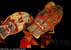 Performance of the Balinese Ramayana, Denpasar, island of Bali, Indonesia, Southeast Asia, Asia