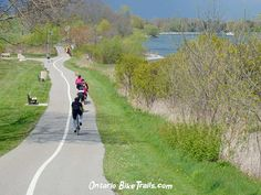 Ajax Waterfront – Park Trail Beat the Heat ! Try this Park bike ride along the lakeshore and feel the cool breeze. Perfect for the family or on a date. Park Trails, Bike Trails, Ride Along, Bmx, Mountain Biking, Ontario, Breeze, Cycling, Bicycle