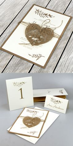 wedding cards, design, invitation, natural style
