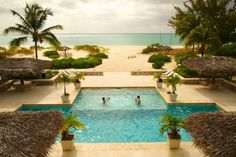 Wish You Were Here: In the Pool at The Meridian Club | Pine Cay | Uncommon Caribbean