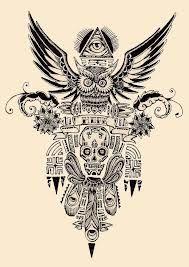 hibou dessin tatouage - Recherche Google