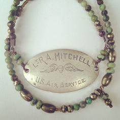 Camo Wrap Military ID Bracelet - Relics by Tami