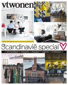 #vtwonen scandinavie special #cover