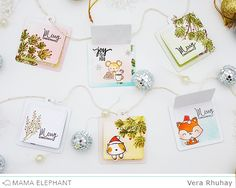 Hello and welcome to the Day 5 of Mama Elephant Stamp Highlights! But...today we are highlighting Framed Tags - Union Square Creative ...