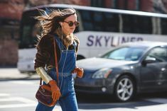 Lessons In Layering From The Streets Of New York City #refinery29  http://www.refinery29.com/2016/02/103173/ny-fashion-week-fall-winter-2016-street-style-pictures#slide-8  Don't forget your gloves....