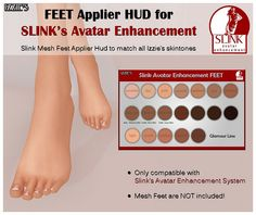 Slink Avatar Enhancement by Izzie Button, via Flickr