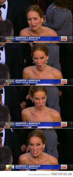 Jennifer Lawrence is amazing…