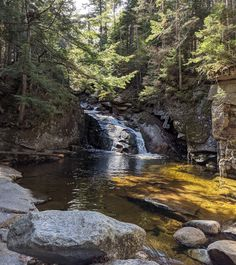 White Mountains, New Hampshire, Spelling, River, Waterfalls, Nature, Outdoor, Instagram, Outdoors
