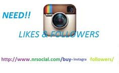 Instagram is the biggest social media platform. Do you want Increase Instagram Followers & Likes? Visit on http://www.nrsocial.com/buy-twitter-followers/