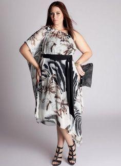 febe6b34c3fe981 Шифоновые платья больших размеров своими руками - Модадром